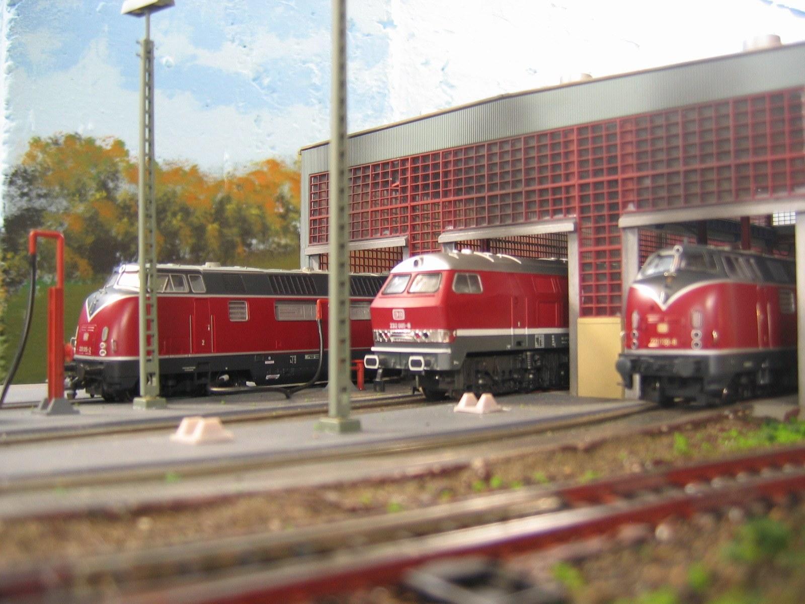 Diesel-Bw Düsseldorf-Wersten