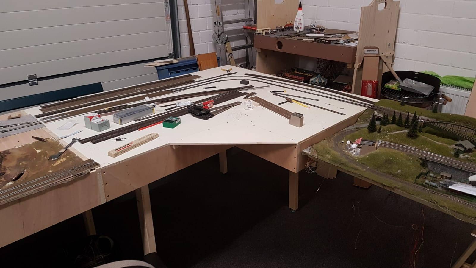 L-Modul befindet sich im Aufbau
