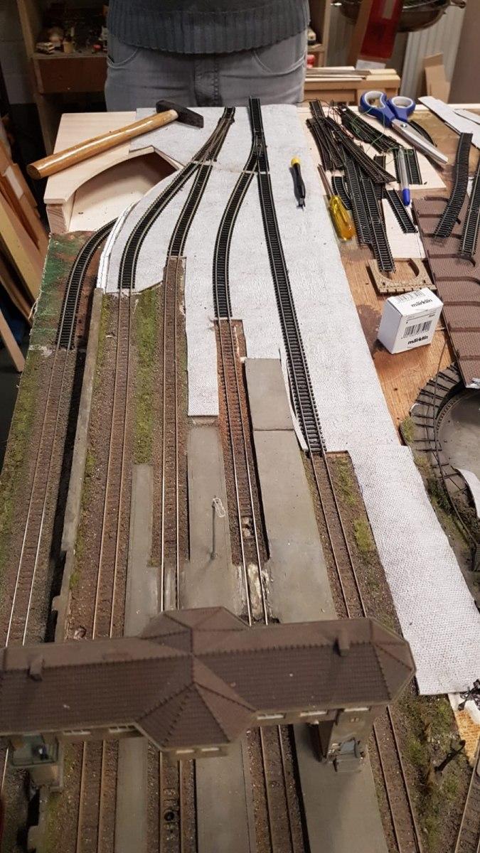 Gleisanbindungen vorbereitet